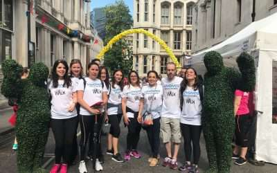 Levenes participate in the London Legal Walk