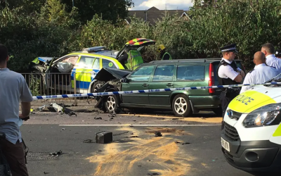 Levenes win road traffic accident claim against Metropolitan  Police