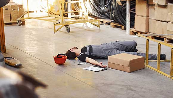 Slipping Accident at Work Claims