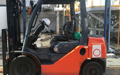 Forklift truck injury compensation claim