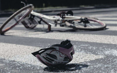 A 6-figure compensation for cyclist run over by car